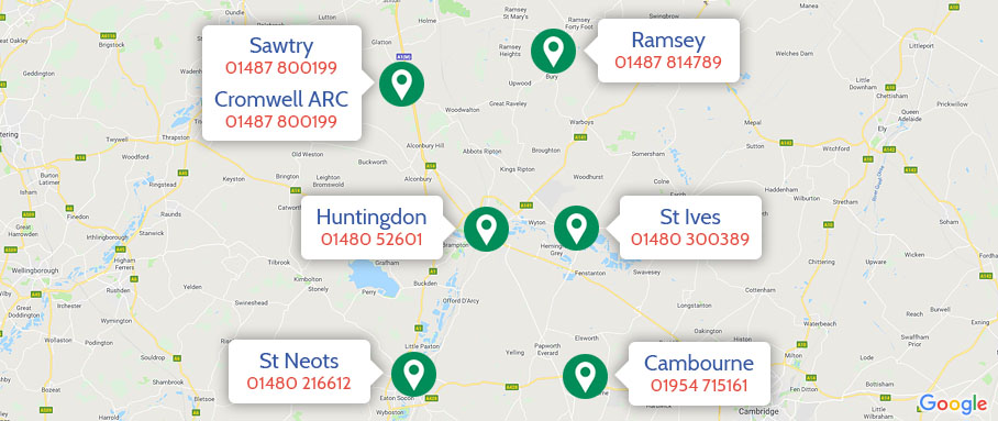 Find your nearest branch